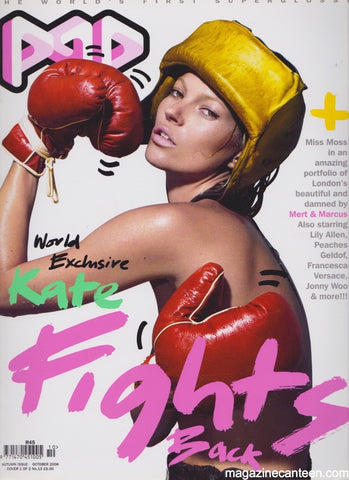 POP Magazine 13 Kate Moss Cover A 2006