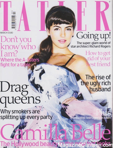 Tatler Magazine - March 2008 - Camilla Belle
