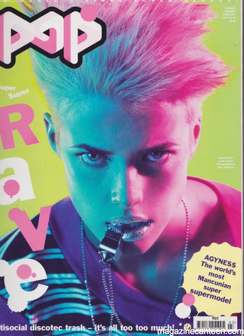 POP Magazine 15 - Agyness Deyn