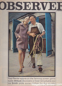 The Observer Magazine 1967 - John Reader Barry Lategan