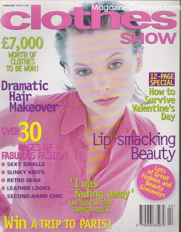 Clothes Show Magazine - 1996 - Edyta Suswillo