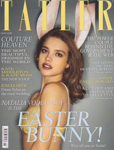 Tatler Magazine - May 2011 - Natalia Vodianova