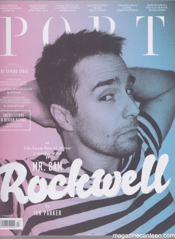 Port Magazine 13. Sam Rockwell