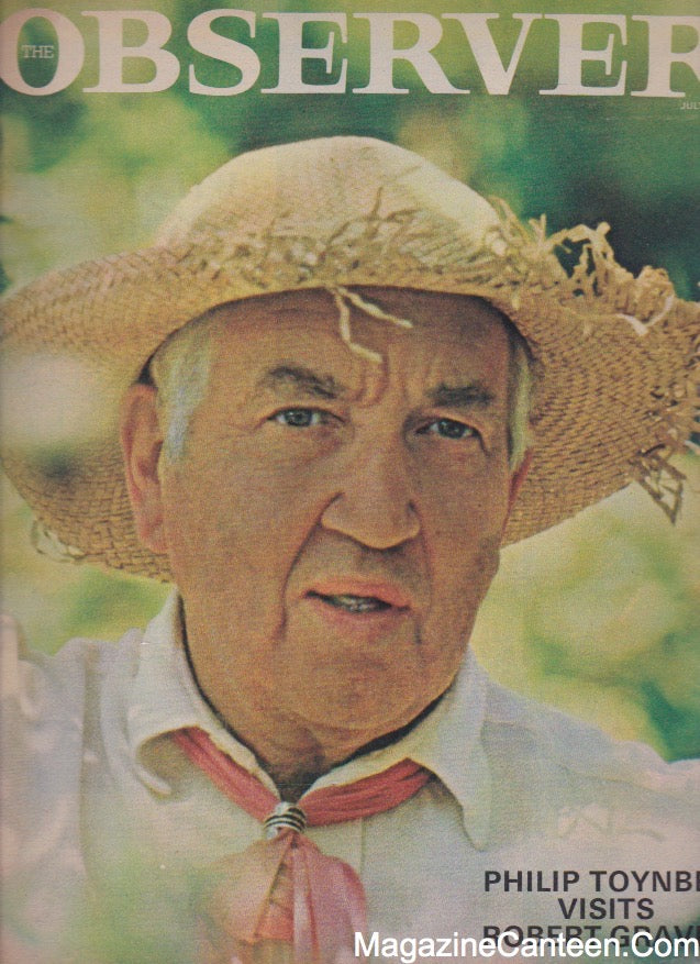 The Observer Magazine 1965 - Robert Graves