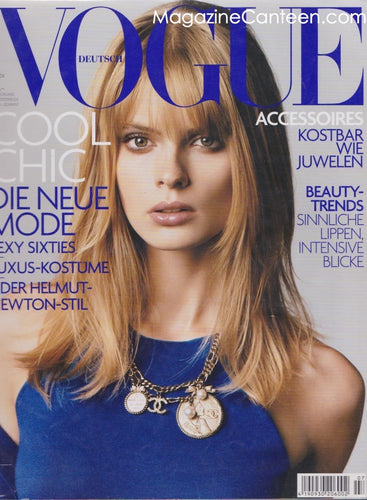 Vogue Germany Magazine - Julia Stegner