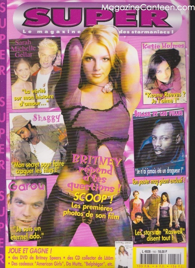 Britney Spears - Super Magazine France