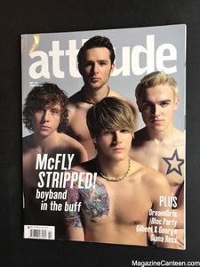 Attitude Magazine / Issue 153 / McFly
