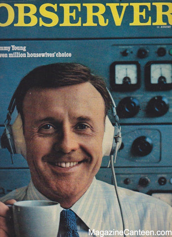 The Observer Magazine 1968 - Jimmy Young