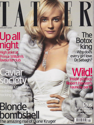 Tatler Magazine - January 2006 - Diane Kruger