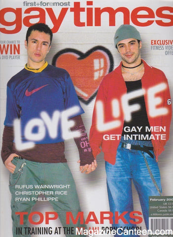 Gay Times Magazine - 2002 - Inc Christopher Rice