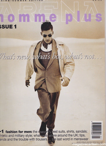 Arena Homme + Plus Magazine Issue 1 1994