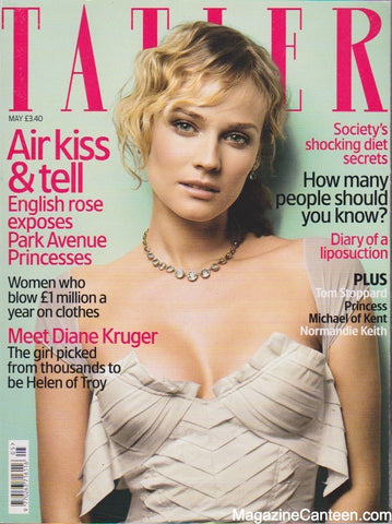 Tatler Magazine - May 2004 - Diana Kruger