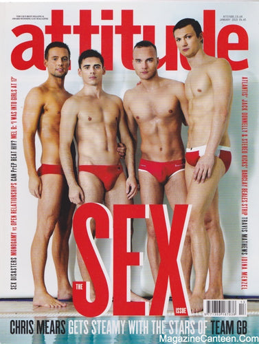 Attitude Magazine 2015 252 - The Sex issue
