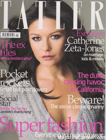 Tatler Magazine - September 2007 - Catherine Zeta Jones
