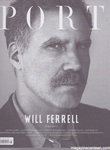 Port Magazine 8. Will Ferrell