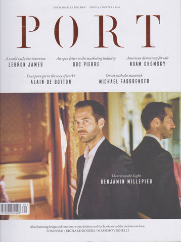 Port Magazine 4 -  Benjamin Millepied