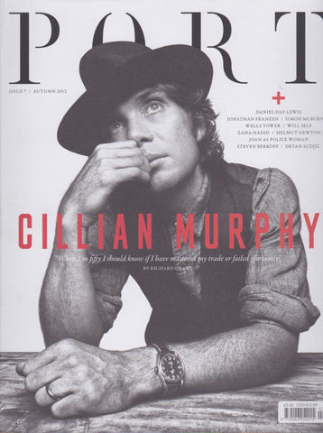 Port Magazine 7 - Cillian Murphy