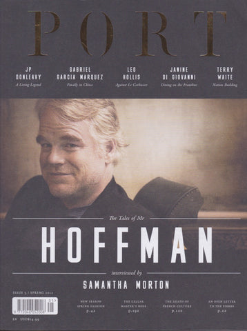 Port Magazine 5 - Philip Seymour Hoffman