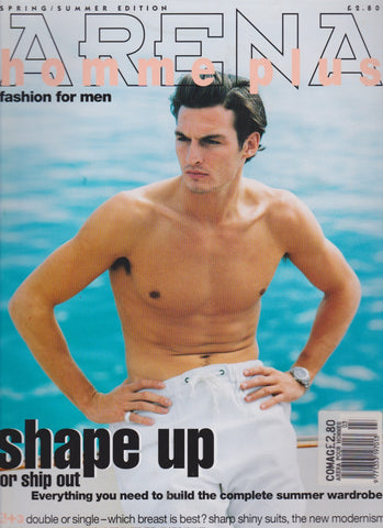 Arena Homme Magazine Issue 3 1995