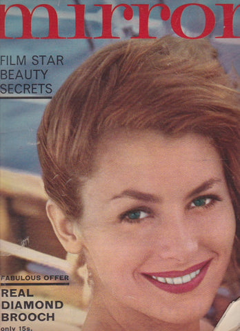 Woman's Mirror Magazine - Nancy Kovack