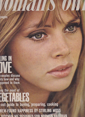 Woman's Own Magazine - Britt Ekland by Peter Sellers