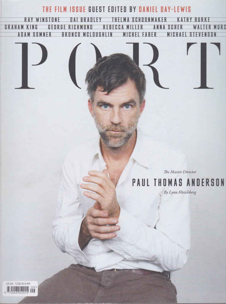 Port Magazine 9. Paul Thomas Anderson