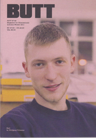 Butt Magazine - Issue 29 - Karl by Wolfgang Tillmans B
