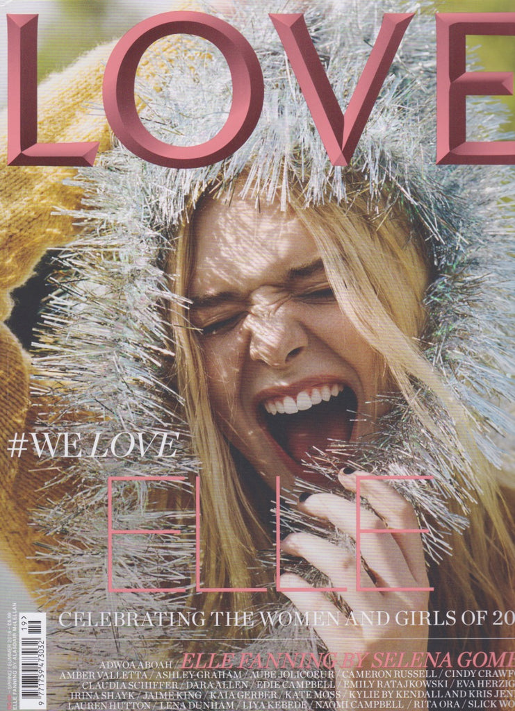 Love Magazine Issue 19 - Elle Fanning