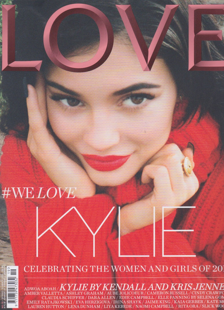 Love Magazine Issue 19 - Kylie Jenner