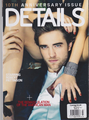 Details Magazine - Robert Pattinson