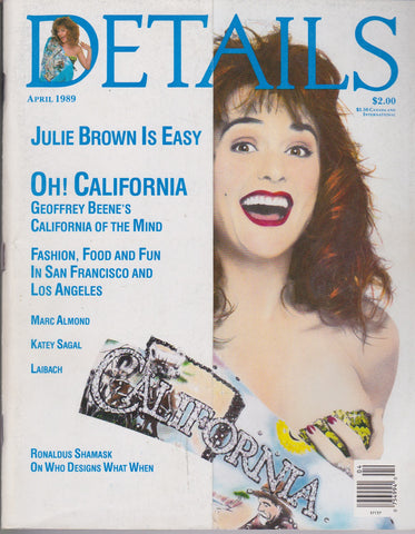 Details Magazine - Julie Brown