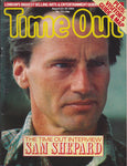 Time Out Magazine - Sam Shepard