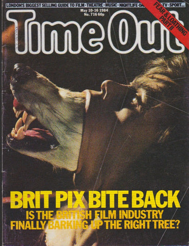 Time Out Magazine - Nigel Planer