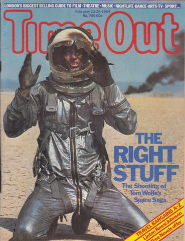 Time Out Magazine - The Right Stuff