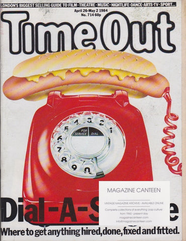Time Out Magazine - Ray Winder