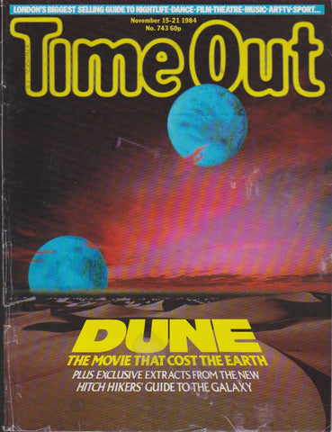 Time Out Magazine - David Lynch's Dune