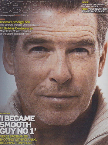 Seven Magazine - Pierce Brosnan