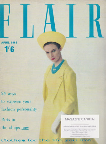 Flair Magazine 1962 - David Olins