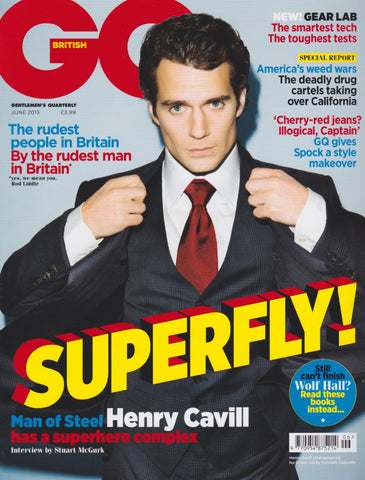 GQ Magazine - June 2013 - Henry Cavill