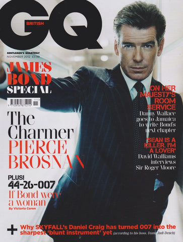 GQ Magazine - November 2012 - Pierce Brosnan