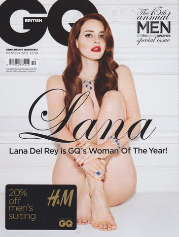 GQ Magazine - October 2012 - Lana Del Rey