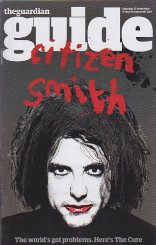 Guide Magazine - Rupert Smith The Cure
