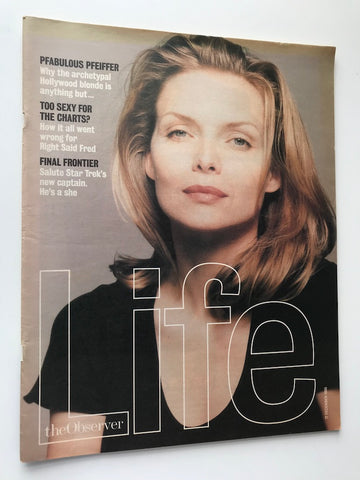 The Observer Magazine - Michelle Pfieffer - Right Said Fred
