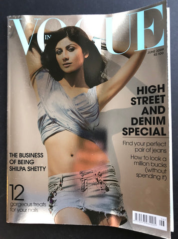 Vogue India Magazine - Shilpa Shetty