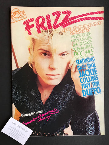 Frizz Magazine - Billy Idol