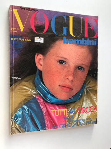 Vogue Bambini Italia vintage magazine for sale Italian back issue