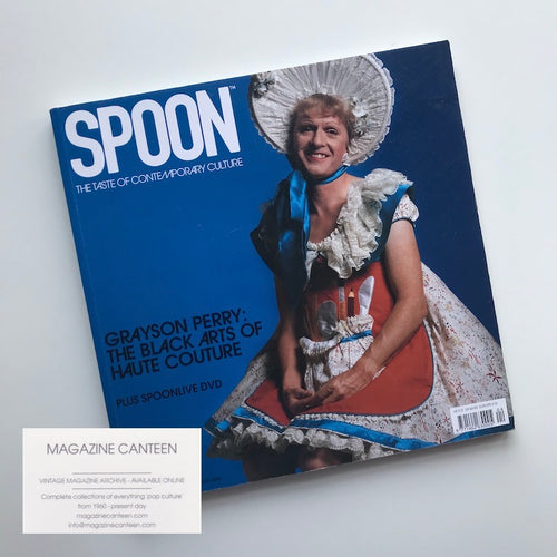 Spoon Magazine - Grayson Perry by Snowdon