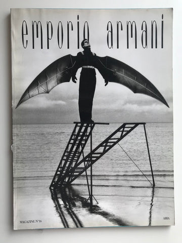 Emporio Armani Magazine 16 - 1996 Lookbook Catalogue