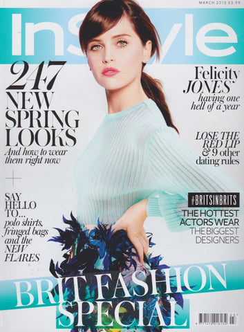 InStyle Magazine - Felicity Jones