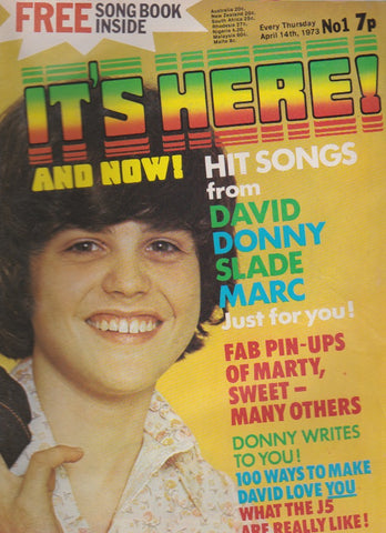 It's Here Magazine - Donny Osmond - The Sweet